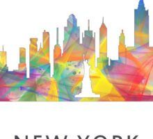 New York City, New York skyline WB1 Sticker