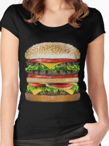 Tasty Delicious Women's Fitted Scoop T-Shirt