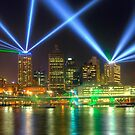 City of Lights  Brisbane by William Bullimore