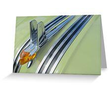 1953 Pontiac Hoodie Bling Greeting Card