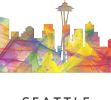 Seattle, Washington Skyline WB1 Sticker