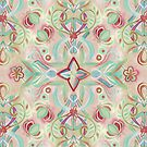 Soft Marsala and Sage Pattern by micklyn