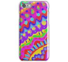 Hand Painted Colourful Pattern  iPhone Case/Skin