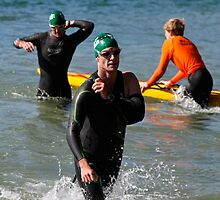Kingscliff Triathlon 2011 Swim leg C387 by Gavin Lardner