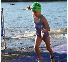 Kingscliff Triathlon 2011 Swim leg P125 by Gavin Lardner