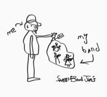 "SweetBread Jim's ""My Band"" (Black) by Theodore  Jones"