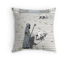 Prelude to battle - the White Queen-Bishop's Tale... Throw Pillow