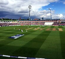 Edgbaston Test, Day One. by John Dalkin