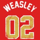 Ron Weasley - Quidditch Shirt - NO.2 by soulthrow