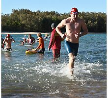 Kingscliff Triathlon 2011 Swim leg P167 by Gavin Lardner