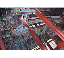 Korean Palace Ceiling Photographic Print