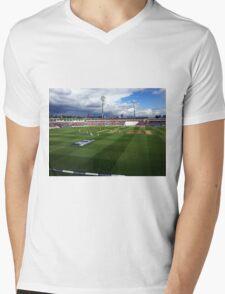 Edgbaston Test, Day One. Mens V-Neck T-Shirt