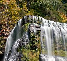 Big Falls at Burgess Falls State Park, Sparta Tennessee by Sam Warner