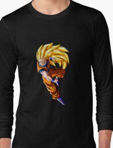 goku super saiyan 3 anime manga shirt Long Sleeve T-Shirt