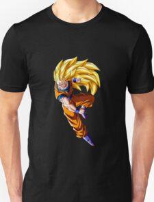 goku super saiyan 3 anime manga shirt T-Shirt