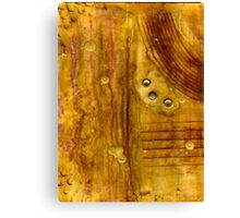 Brass Tokens III Canvas Print