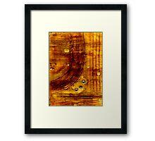 Brass Tokens I Framed Print