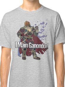 I Main Ganondorf - Super Smash Bros. Classic T-Shirt
