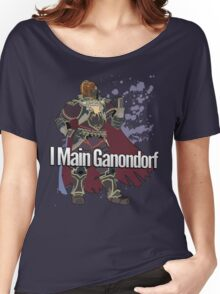 I Main Ganondorf - Super Smash Bros. Women's Relaxed Fit T-Shirt