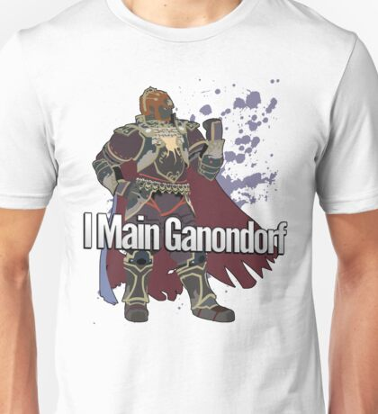 I Main Ganondorf - Super Smash Bros. Unisex T-Shirt