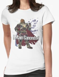 I Main Ganondorf - Super Smash Bros. Womens Fitted T-Shirt