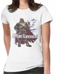 I Main Ganondorf - Super Smash Bros. Womens Fitted T-Shirt