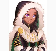 Lady with winter coat T-Shirt