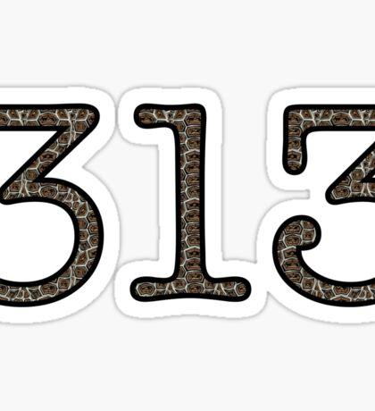 313 Sticker