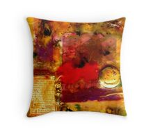 She Wants Gold for Her Cherries Throw Pillow
