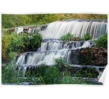 First Falls at Burgess Falls State Park, Sparta Tennessee Poster