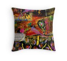 Brazilian Festival Throw Pillow