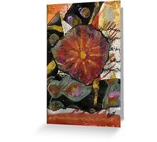 Red Affection Greeting Card