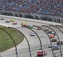 Chicagoland Speedway Geico 400 Race by Marija