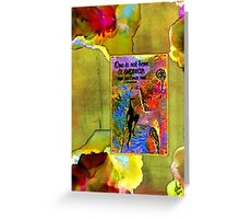 Becoming A Woman Greeting Card