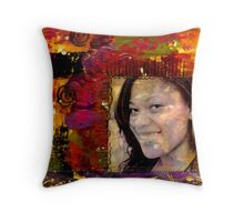 I Like Color, Don't You? Throw Pillow