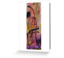 Mellow Strings Greeting Card