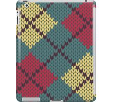 Retro Knit Argyle iPad Case/Skin