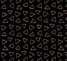 Black and gold triangles by haroulita