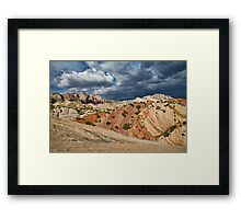 Split Mountain from Sound of Silence Trail Framed Print