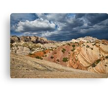 Split Mountain from Sound of Silence Trail Canvas Print