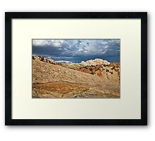 Split Mountain from Sound of Silence Trail 2 Framed Print
