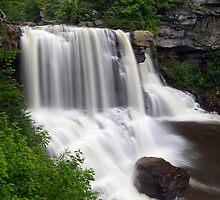 Blackwater Falls near Davis, West Virginia by Kenneth Keifer