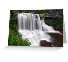 Blackwater Falls near Davis, West Virginia Greeting Card
