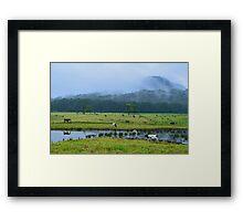Oz Countryside Framed Print
