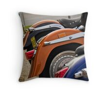 Harley tails Throw Pillow