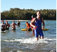 Kingscliff Triathlon 2011 Swim leg P176 by Gavin Lardner