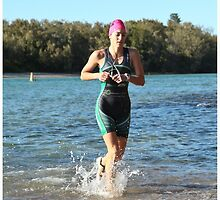 Kingscliff Triathlon 2011 Swim leg P190 by Gavin Lardner