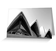 Sails of the Sydney Opera House Greeting Card