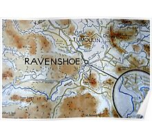 That's Ravens-hoe, not Raven-shoe Poster