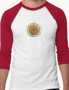 Textured Rose - JUSTART © Men's Baseball ¾ T-Shirt